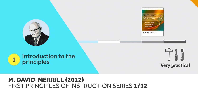 First Principles Of Instruction Summary M David Merill Mybrainisopen