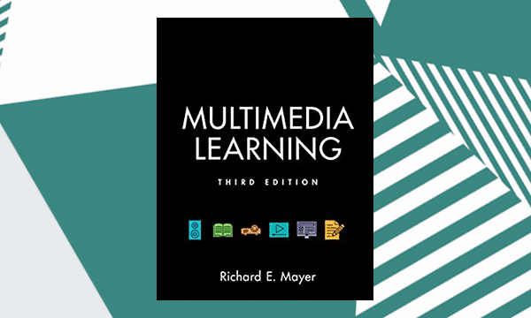 Multimedia learning (third edition book cover)